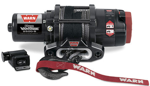 Warn ProVantage 2500 Winch with Synthetic Rope
