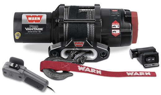Warn ProVantage 3500 Winch with Synthetic Rope