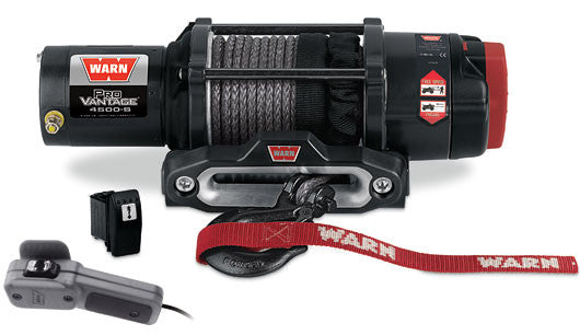 Warn ProVantage 4500 Winch with Synthetic Rope