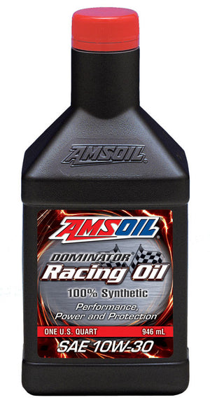 Amsoil DOMINATOR® 10W-30 Synthetic Racing Oil 1 Qt. - Warranty Killer Performance