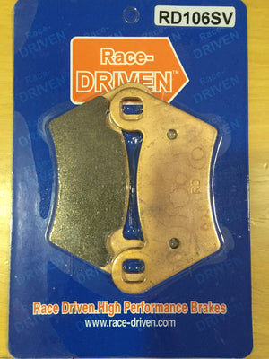 Race Driven Brake Pad (RD106SV) - Warranty Killer Performance