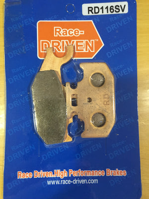 Race Driven Brake Pad (RD116SV) - Warranty Killer Performance
