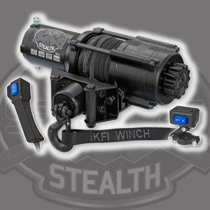 KFI 4500 ATV/UTV Stealth Series Winch - Warranty Killer Performance