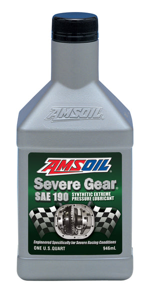 Amsoil Severe Gear® SAE 190 Synthetic Lube 1 Qt. - Warranty Killer Performance