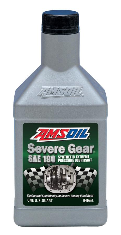 Amsoil Severe Gear® SAE 190 Synthetic Lube 1 Qt.