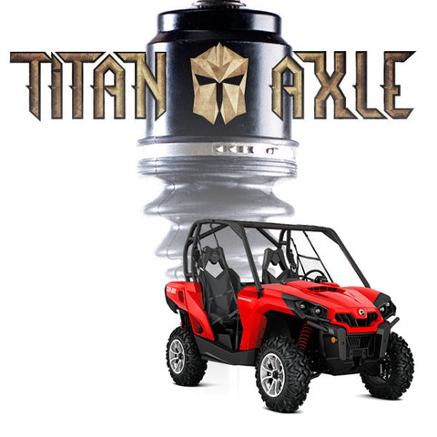 S3 Power Sports Titan Axles