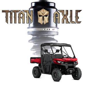 Titan Axle Can-Am Defender Axle