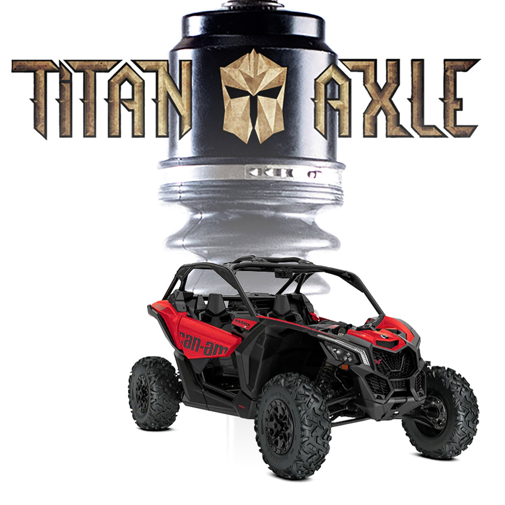 "Titan Axle Can-Am Maverick X3 64"" Axle"