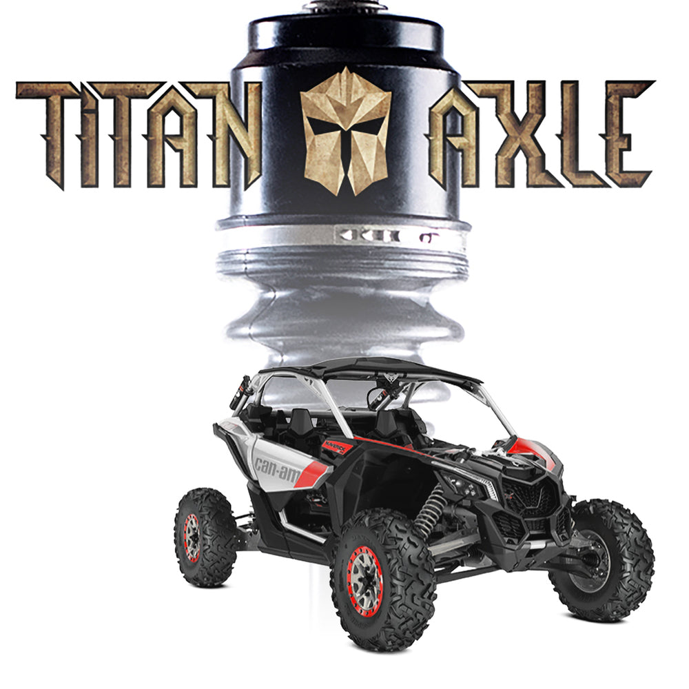 "Titan Axle Can-Am Maverick X3 72"" Axle"