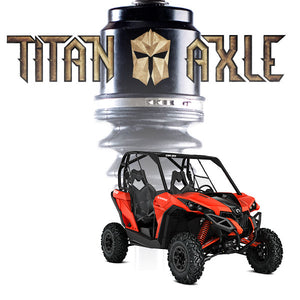 Titan Axle Can-Am Maverick Axle