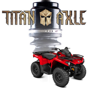 Titan Axle Can-Am Outlander / Renegade (2013+) Axle