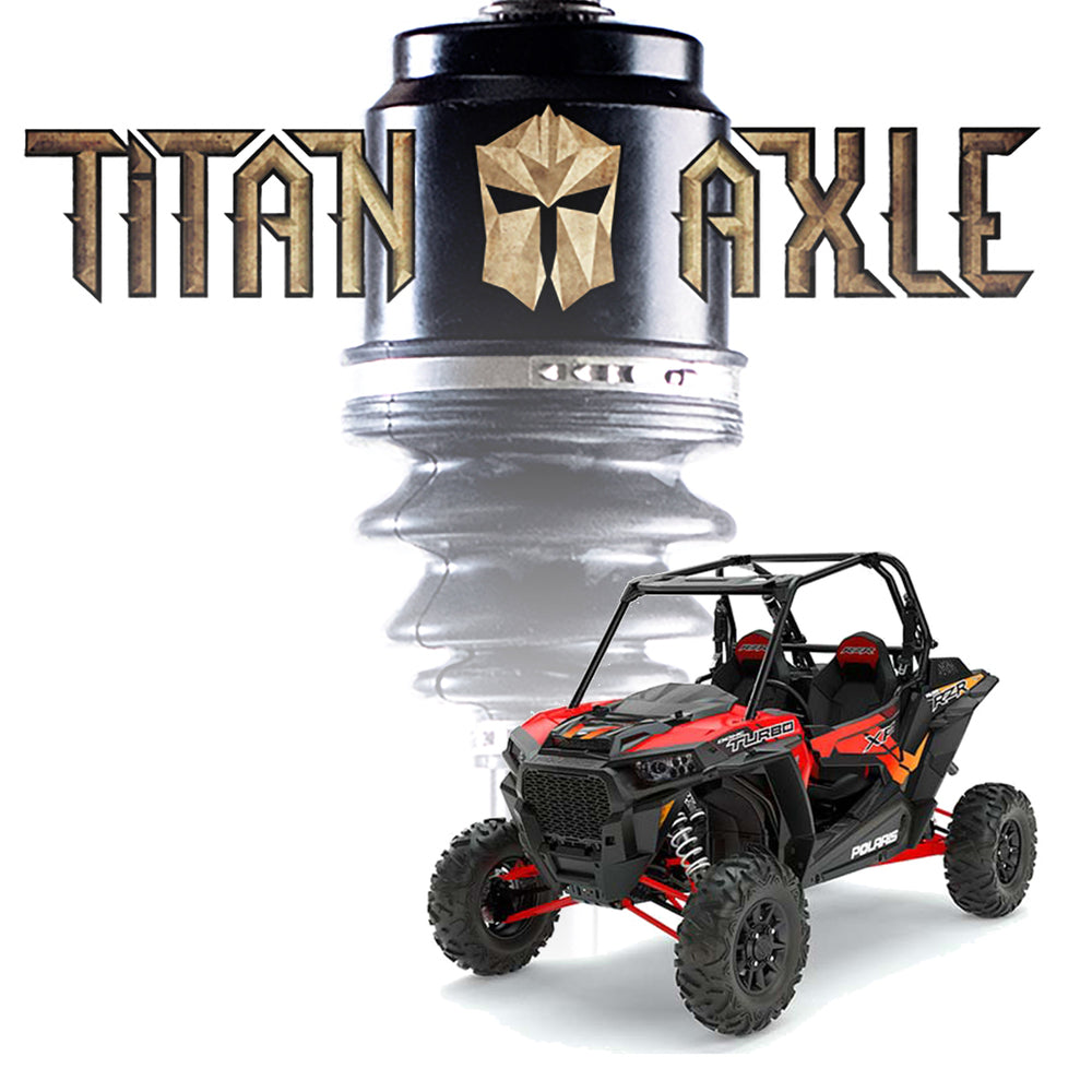 Titan Axle Polaris RZR Turbo Axle