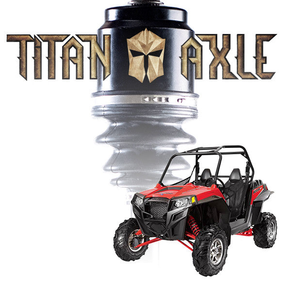 "Titan Axle Polaris RZR +6"" Axle"