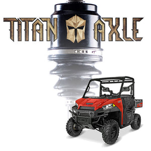 "Titan Axle Polaris Ranger +6"" Axle"