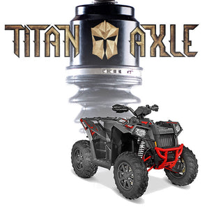 Titan Axle Polaris Sportsman / Scrambler Axle