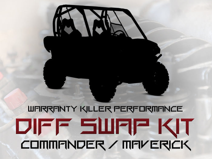 WKP Commander to Maverick Differential Swap Complete Kit