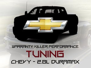 Chevy 2.8L Duramax Tuning - Warranty Killer Performance