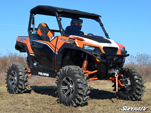 Polaris General Scratch Resistant Full Windshield - Warranty Killer Performance