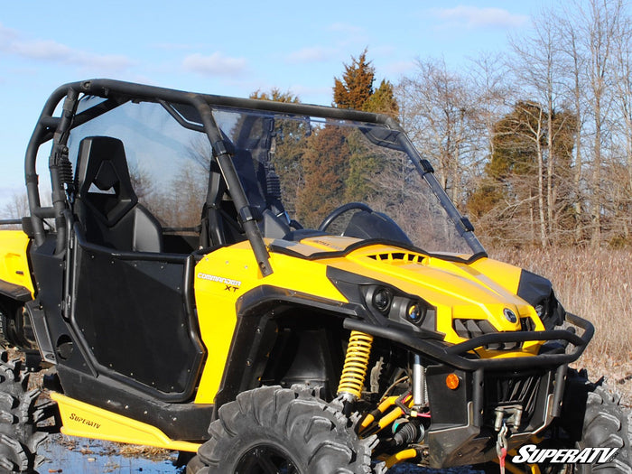 Can-Am Commander Scratch Resistant Full Windshield