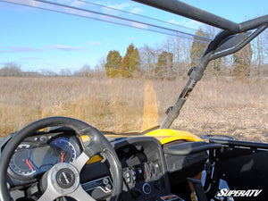 Can-Am Commander Scratch Resistant Full Windshield - Warranty Killer Performance