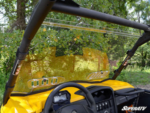 Can-Am Commander Scratch Resistant Vented Full Windshield - Warranty Killer Performance