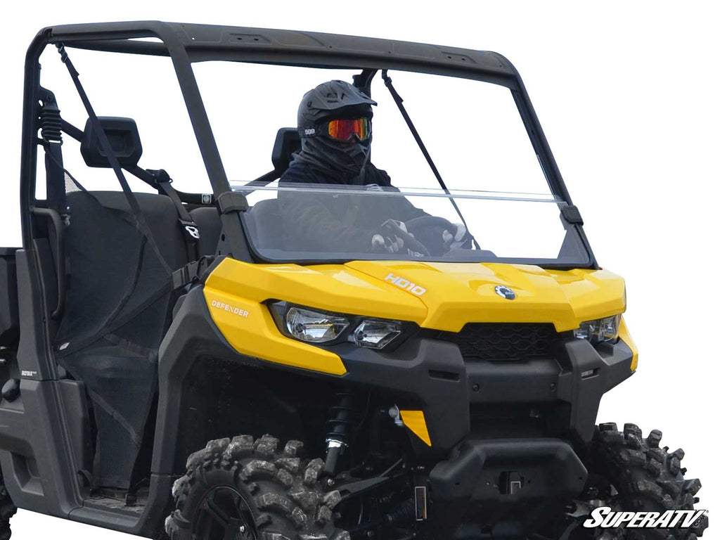 Can Am Defender Half Windshield - Warranty Killer Performance