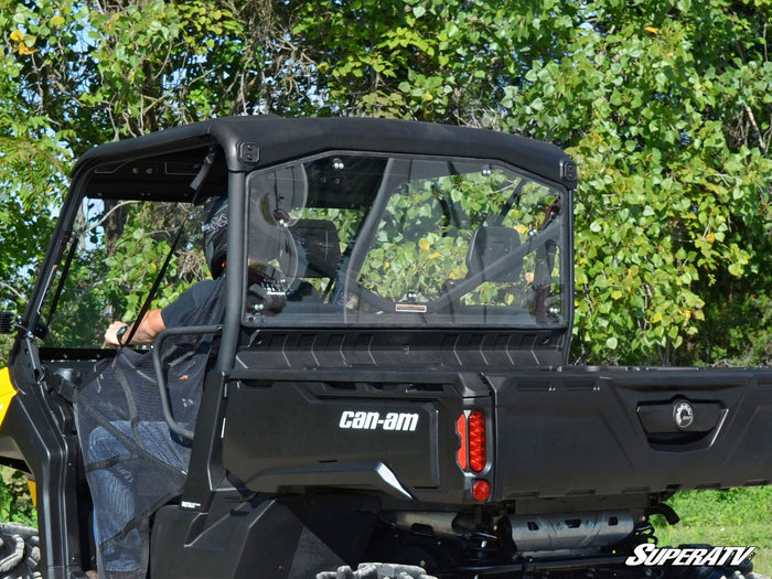 Can Am Defender Rear Windshield