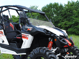 Can-Am Maverick Scratch Resistant Half Windshield - Warranty Killer Performance