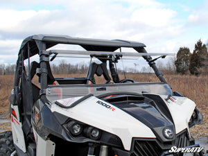 Can-Am Maverick Scratch Resistant Flip Windshield - Warranty Killer Performance