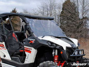 Can-Am Maverick Scratch Resistant Full Windshield - Warranty Killer Performance