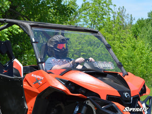 Can-Am Maverick Scratch Resistant Vented Full Windshield - Warranty Killer Performance