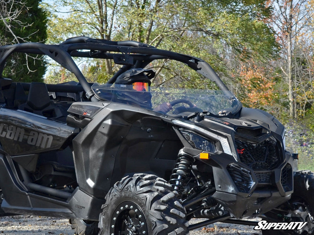 Can-Am Maverick X3 Half Windshield - Warranty Killer Performance