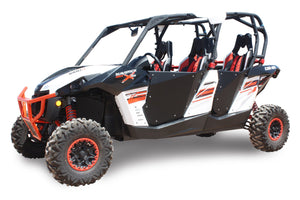 HiBoy Commander/Maverick 4 Seater Doors - Black - Warranty Killer Performance