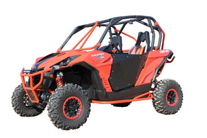 HiBoy Commander/Maverick 2 Seater Doors - Black - Warranty Killer Performance