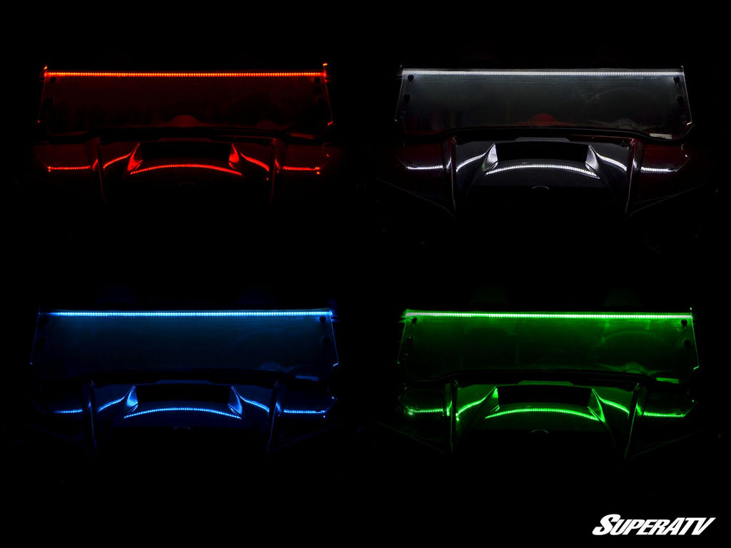 LED Windshield Light Strips