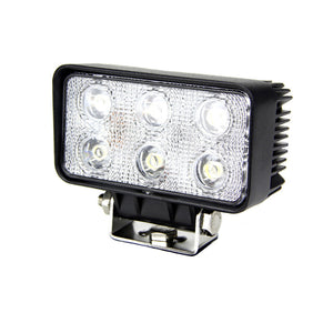Fracture Series LED Work Light 4.5inch - 18W - Black - Warranty Killer Performance