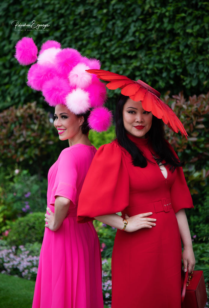 YUAN LI LONDON Millinery HATS at Royal Ascot Ladies day 2019