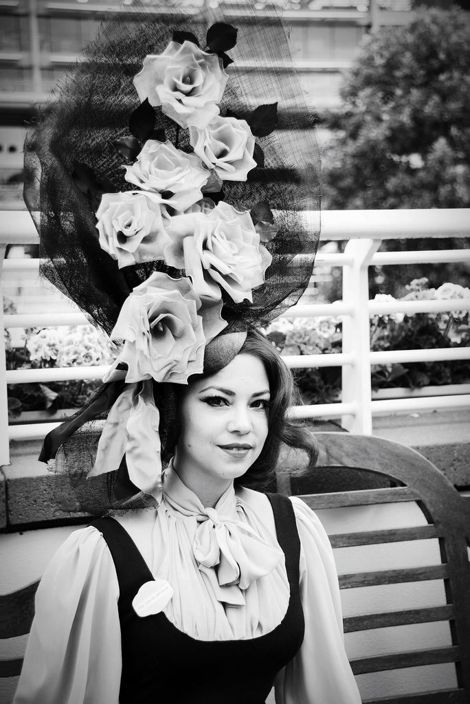 Yuan Li London Millinery at Royal Ascot Ladies Day 2017 Photography by Maurizio il Cortigiano