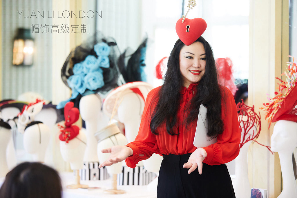 YUAN LI LONDON Couture Millinery and Afternoon Tea