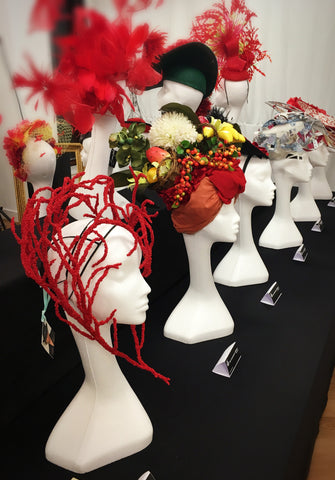 "Yuan Li Millinery at London Hat Week 2016  ""Milliner x Artisan"" Official Exhibition"