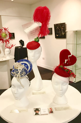 "Yuan Li London Millinery at China Design Centre  ""Inspired by The East"" Exhibition"