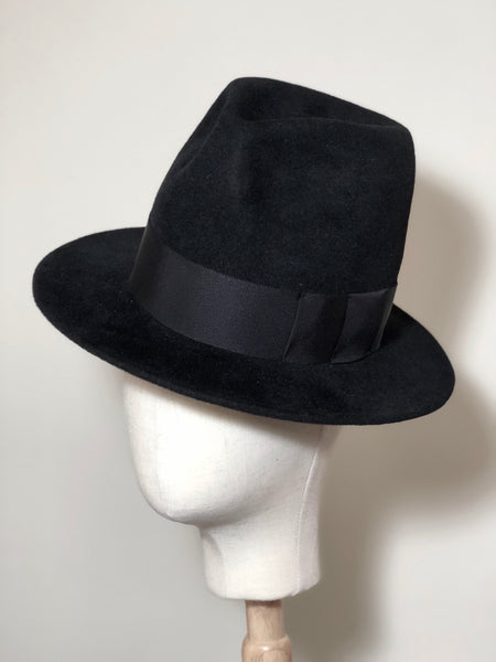 Love Cohen Tall Fur Felt Fedora Hat