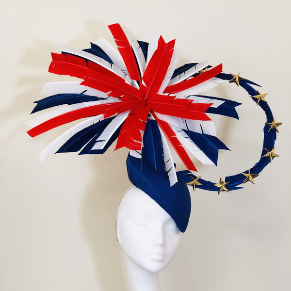 Union Jack and EU Hat