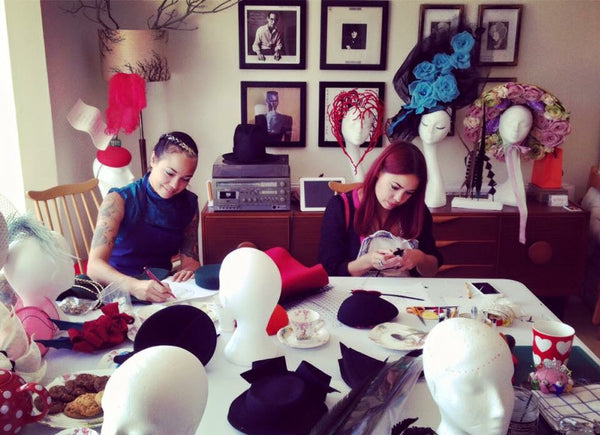 One Fine Day -- Bridal Party Fascinator / Veiling Workshop with Prosecco