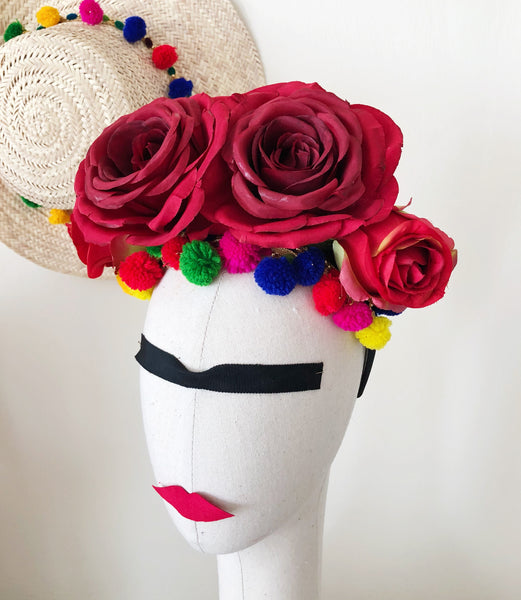 Frida Kahlo Inspired Flower Crown Workshop