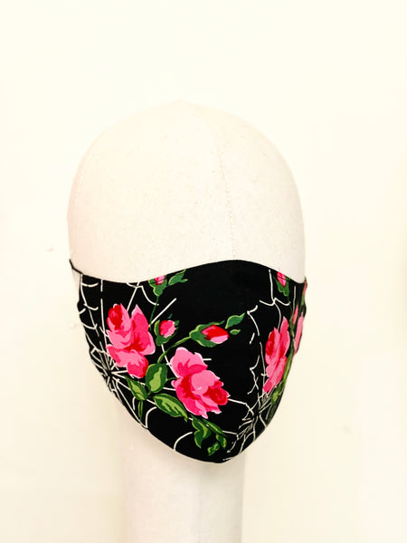 Limited Edition Kiss of Spider Woman Cotton Face Cover Mask Filtered