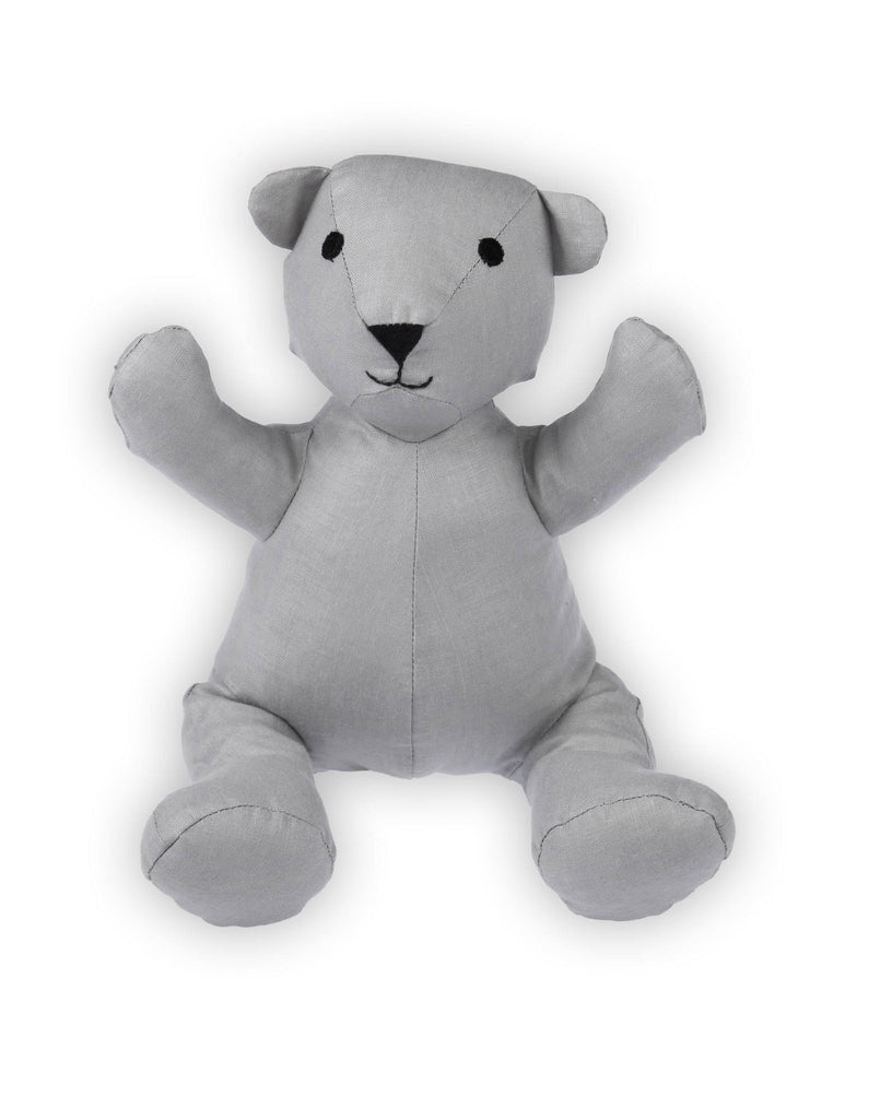 Teddy Bear in Grey Linen