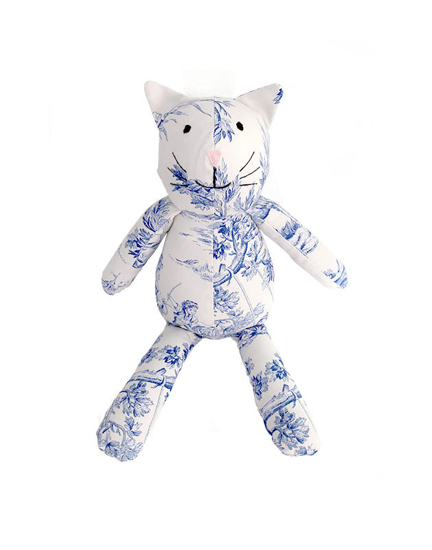 Kitty Cat in Toile Cotton
