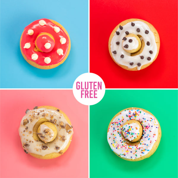 8 Pack - Cake + Raised Variety