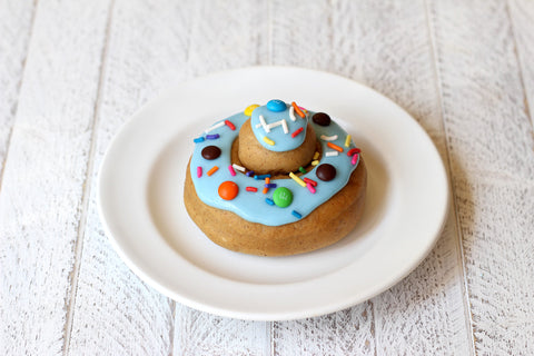 4 Pack - Candy Blue w/ Sprinkles + M&M's